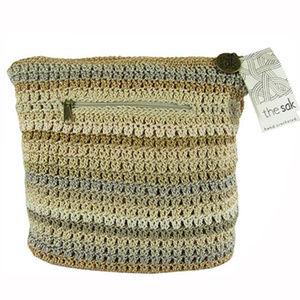 The Sak Womens Amberly Hobo Crochet